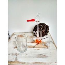 Houpací čáp - oranžový