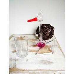 Houpací čáp - růžový