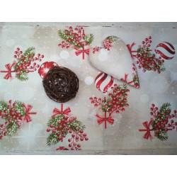 Vánoční běhoun - koule