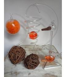 Dekorační sada - oranžová